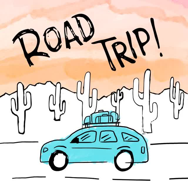Watch and share Road Trip GIFs by Alpha Bravo on Gfycat