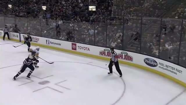 Watch and share Mcquaid Hit GIFs by The Pensblog on Gfycat