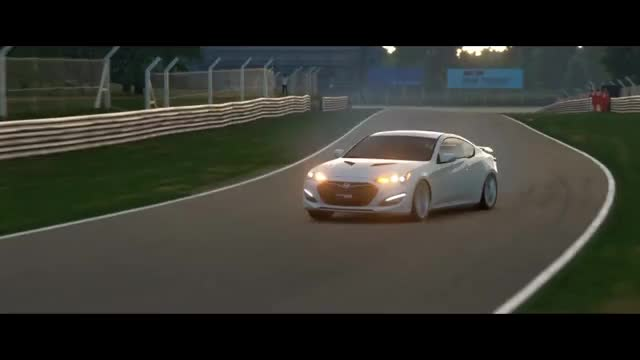 Watch GT Sport Drifting - Stock Hyundai Genesis Coupe 3.8 GIF on Gfycat. Discover more closed beta, gran turismo sport, gt sport GIFs on Gfycat