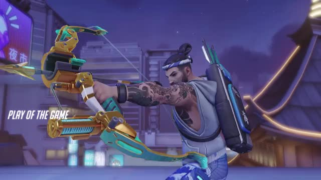Watch and share Overwatch GIFs and Hanzo GIFs by shiver411 on Gfycat