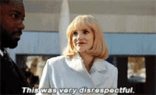 jessica chastain, Jessica Chastain Disrespect GIFs
