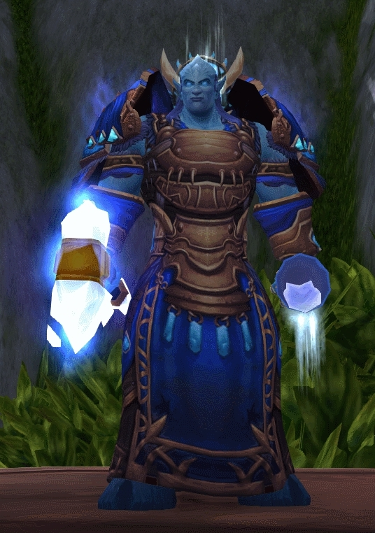 Transmogrification, transmogrification, I'm blue. [Cloth] (reddit) GIFs