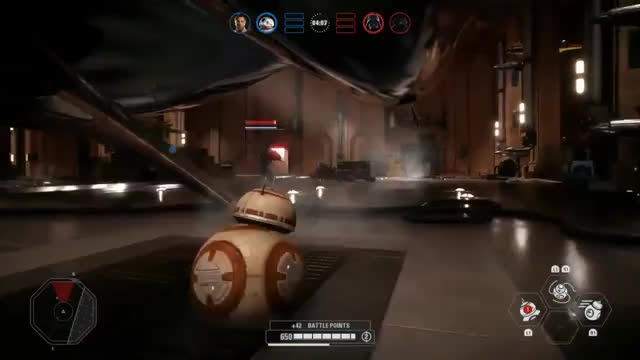 Watch and share To The Guy Who Said That BB8 Is A Free Kill. I Present To You BB8 Vs Darth Vader GIFs on Gfycat
