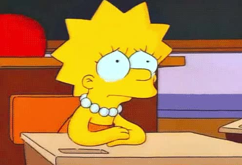 class, cry, crying, disappointed, eyes, hurt, lisa, sad, simpsons, tears, Sad Lisa GIFs