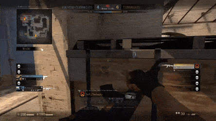 Was Dizzy after this Clutch. • r/GlobalOffensive GIFs