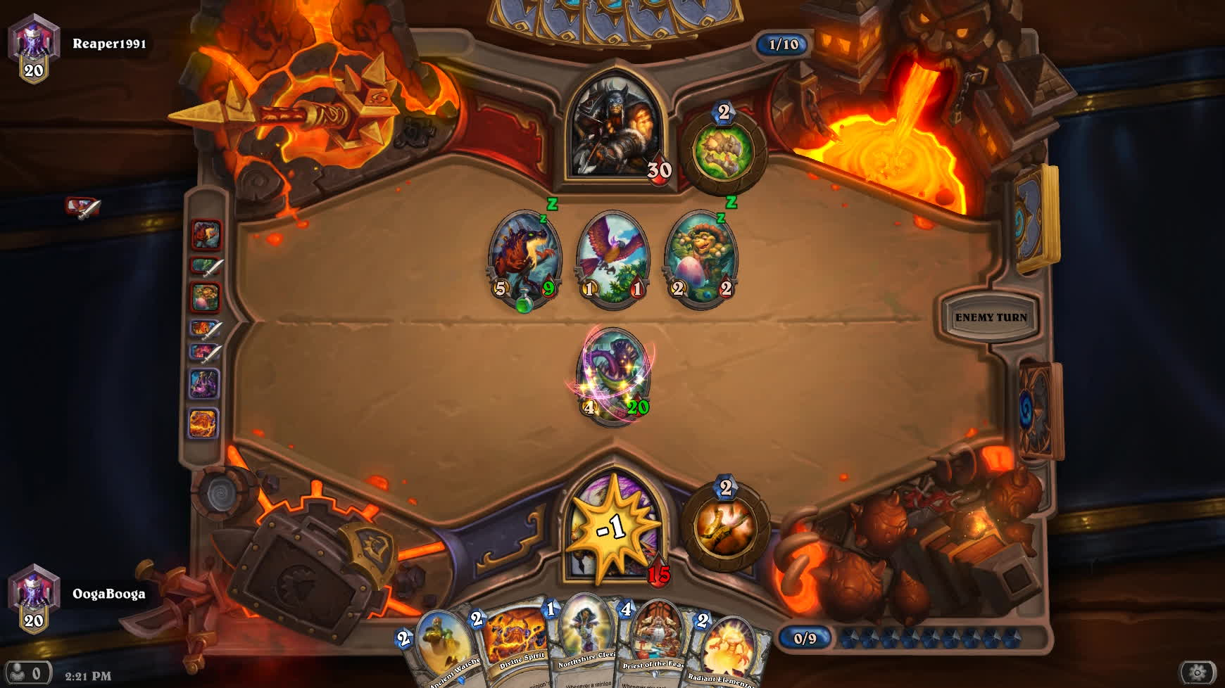 priest, topdeck, wouldalost, Hearthstone Top Deck Save GIFs