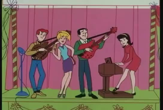Watch Sugar Sugar GIF on Gfycat. Discover more Archies, Cartoon, Music GIFs on Gfycat