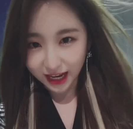 Watch and share 채연 앚스타 월요요정 GIFs by 길동 on Gfycat