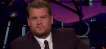 James Corden, Disappointed GIFs