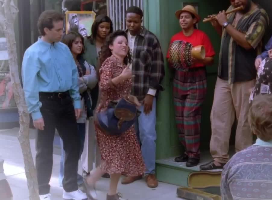 awkward, dance, dancing, elaine, fail, funny, hilarious, seinfeld, Elaine Dancing GIFs
