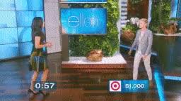 Watch Sandra Bullock GIF on Gfycat. Discover more Gif, Sandra Bullock, animals, ellen degeneres, ellenshow, funny, sandy bullock GIFs on Gfycat