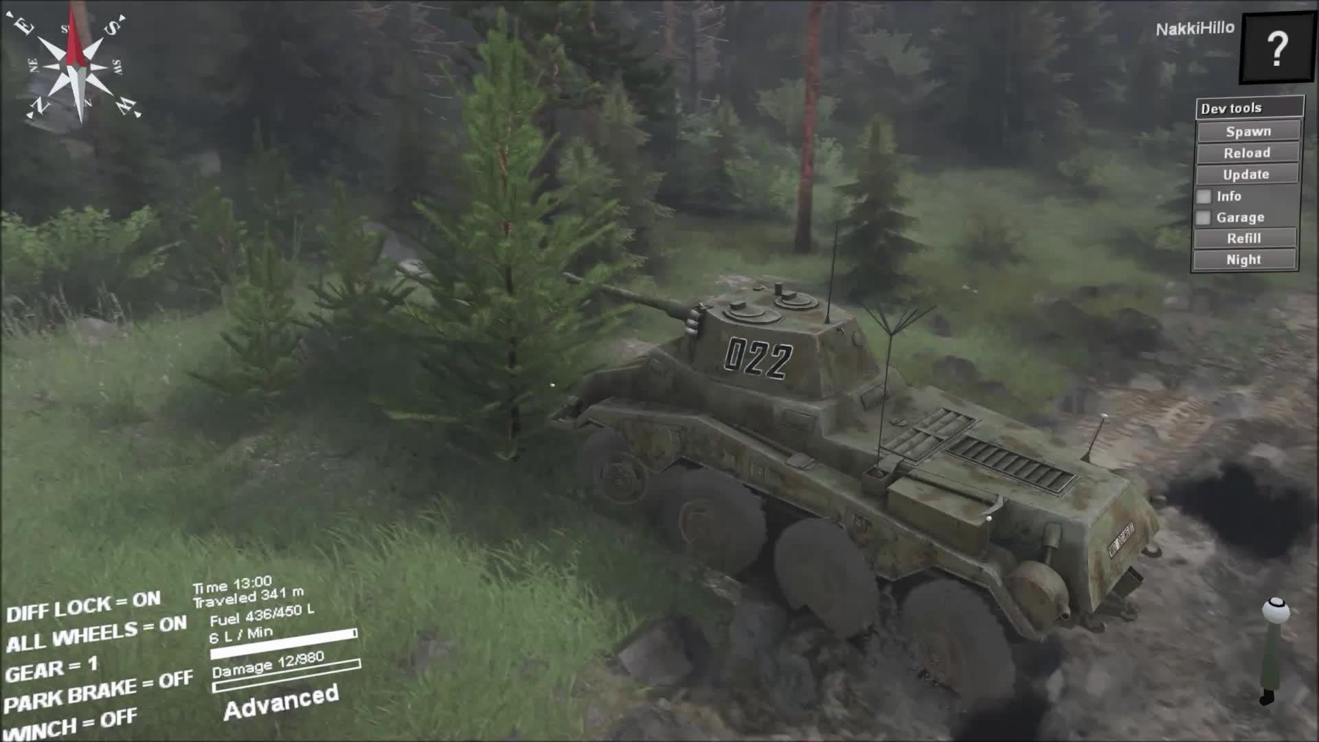 Puma In SpinTires GIFs
