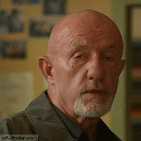 Watch Better Call Saul Mike Ehrmantraut Apologize Reaction Jonathan Banks GIF on Gfycat. Discover more related GIFs on Gfycat