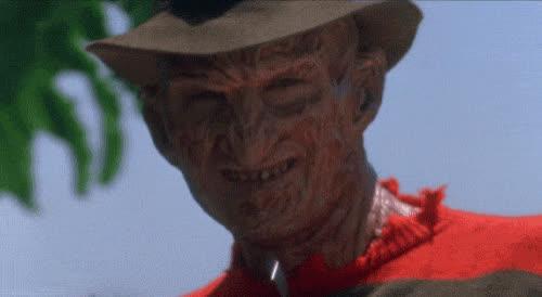 deal with it, freddy krueger, nightmare on elm street 4, sunglasses, the dream master, Freddy Krueger Deal With It GIFs