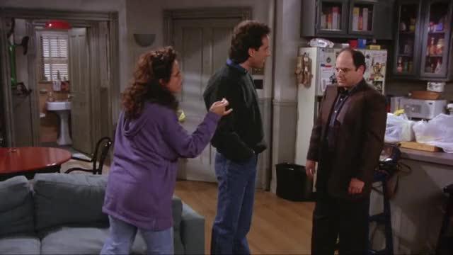 Watch and share Jason Alexander GIFs and Jerry Seinfeld GIFs by EveryManAWildcat on Gfycat