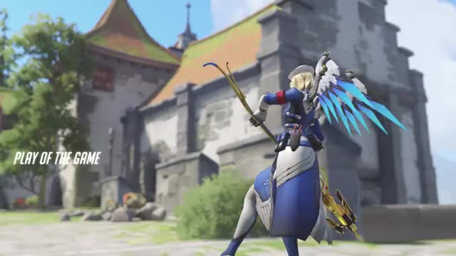Watch Dps Mercy  GIF by PinkGuy (@pinkguy) on Gfycat. Discover more Mercy, Overwatch, Play of the game GIFs on Gfycat