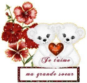 Watch and share MA GRANDE SOEUR animated stickers on Gfycat