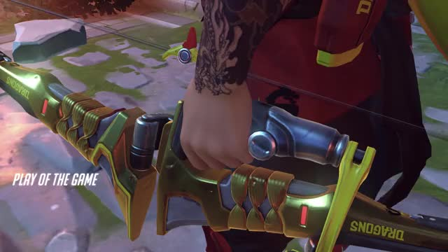 Watch and share Overwatch GIFs and Hanzo GIFs by bigplaysonly on Gfycat