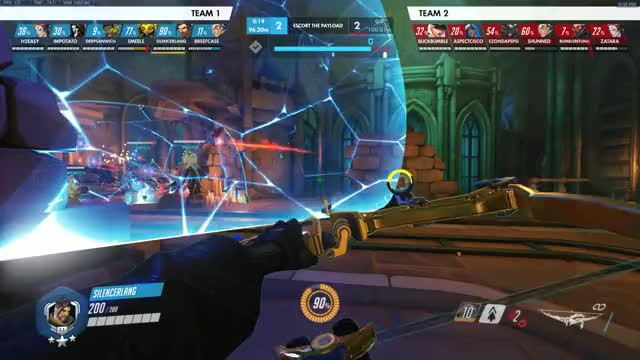 Watch and share Overwatch GIFs and Hanzo GIFs by SilencerLang on Gfycat