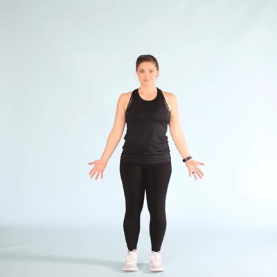 Watch 400x400-Basic Jumping Jacks GIF by Healthline (@healthline) on Gfycat. Discover more related GIFs on Gfycat