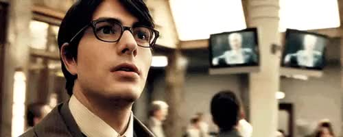 Watch and share Brandon Routh GIFs and Clark Kent GIFs on Gfycat