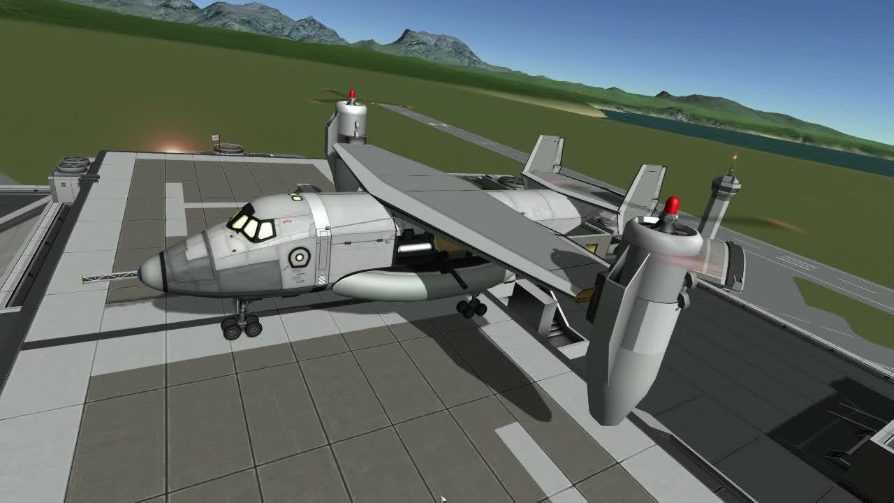 KSP Vtol Takeoff GIFs