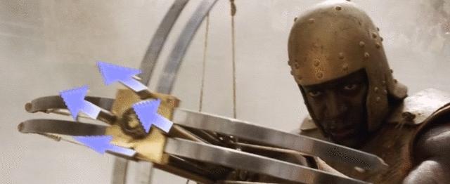 upvotegifs, Repeating Downvote Crossbow GIFs