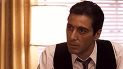 Watch and share Michael Corleone GIFs and Classic Movies GIFs on Gfycat