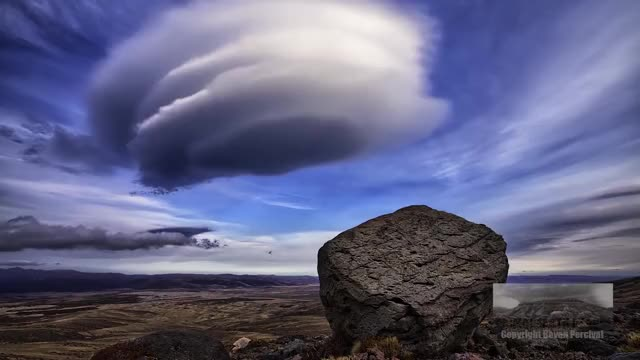 Watch Lenticular clouds above Rangipo desert, New Zealand GIF on Gfycat. Discover more weathergifs GIFs on Gfycat