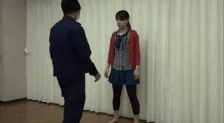 Watch and share Karate Girl Guides Kicks And Some Self-defense Techniques #MartialArts. GIFs on Gfycat