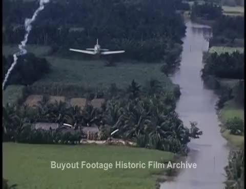 Watch and share Historic Stock Footage - Vietnam War Airstrike 1 White Phosphorus Napalm GIFs on Gfycat