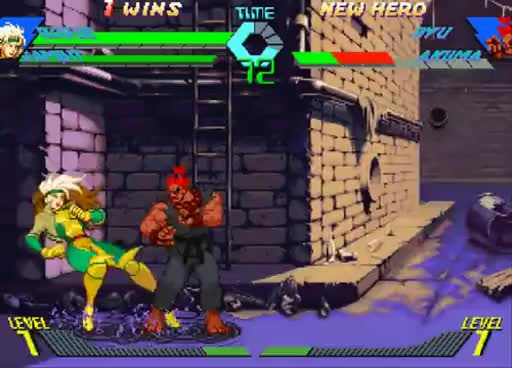 Watch and share Marvel Vs Capcom GIFs and Shun Goku Satsu GIFs on Gfycat