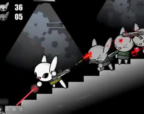 Watch and share Bunny Kill GIFs on Gfycat