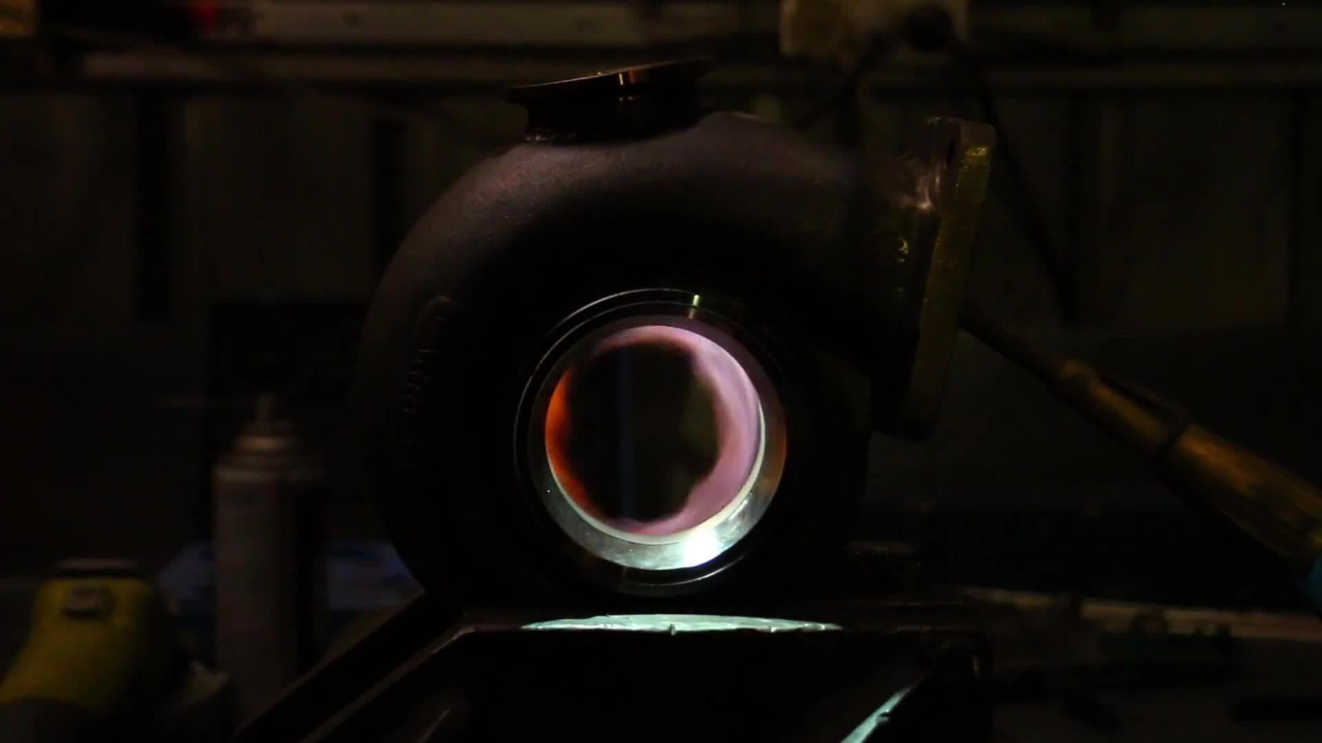 marty, mightycarmods, moog, Nissan Stagea 'Double Unicorn' Build - Turbo heatup GIFs