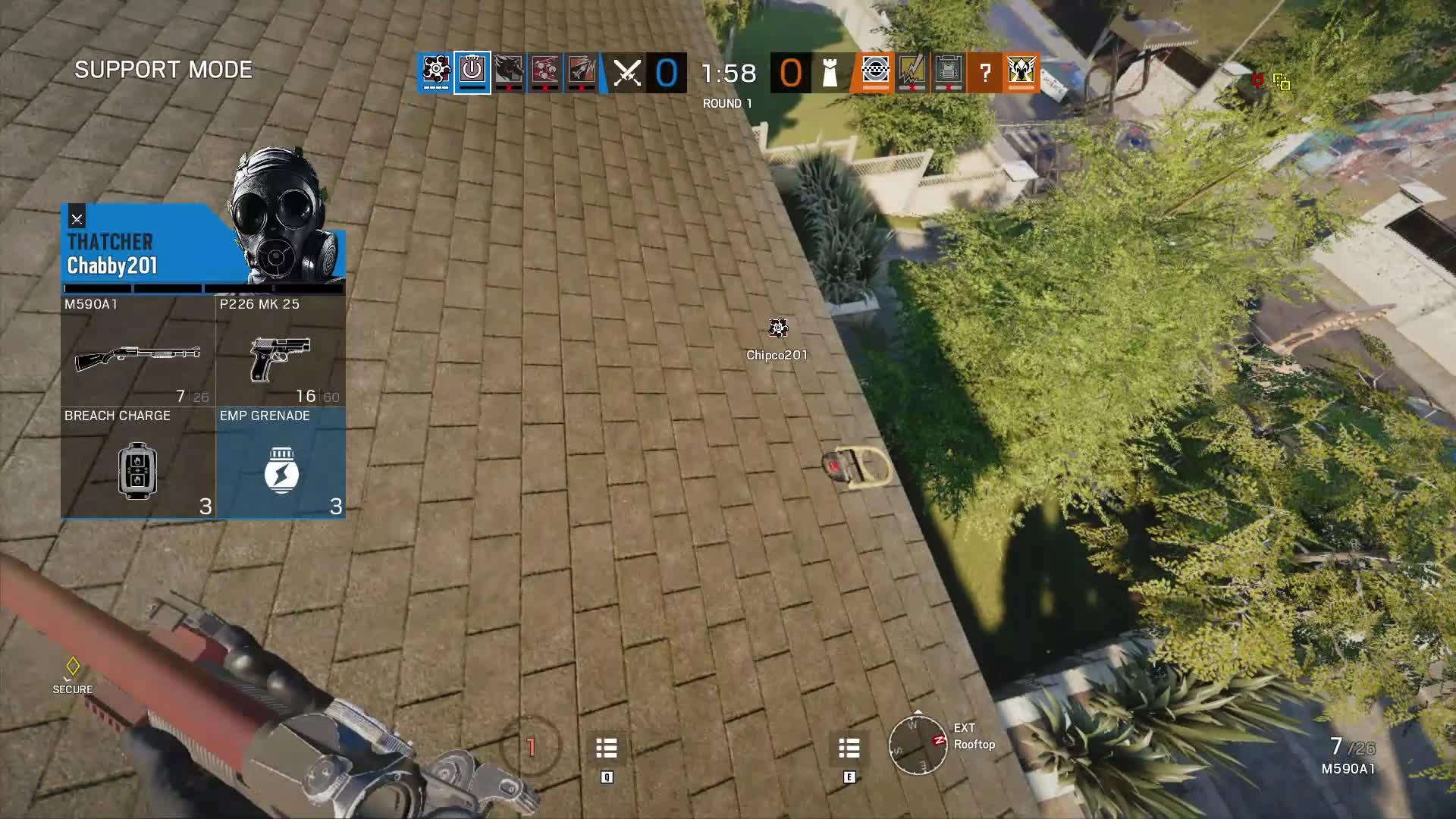 Disintegrated, One Punch, Rainbow Six Siege, Rainbow Six Siege - One Punched GIFs