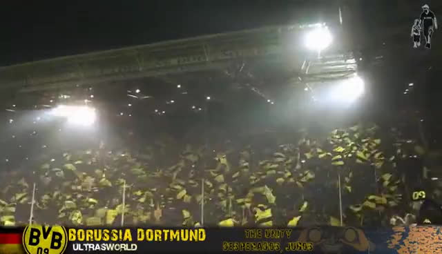Borussia Dortmund Ultras World Gif Gfycat