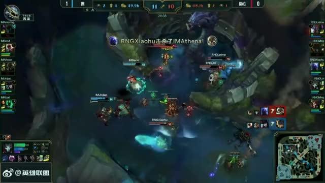 Ben4 Quadra-Kill vs RNG