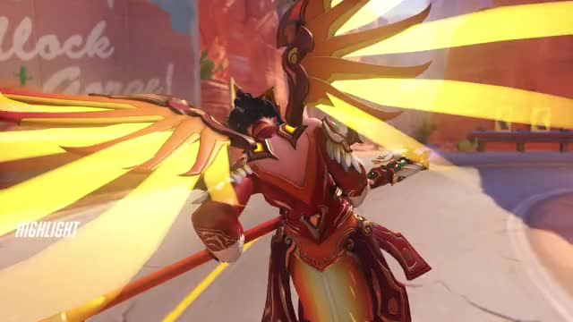 Watch and share Overwatch GIFs and Mercy GIFs by blueryth on Gfycat