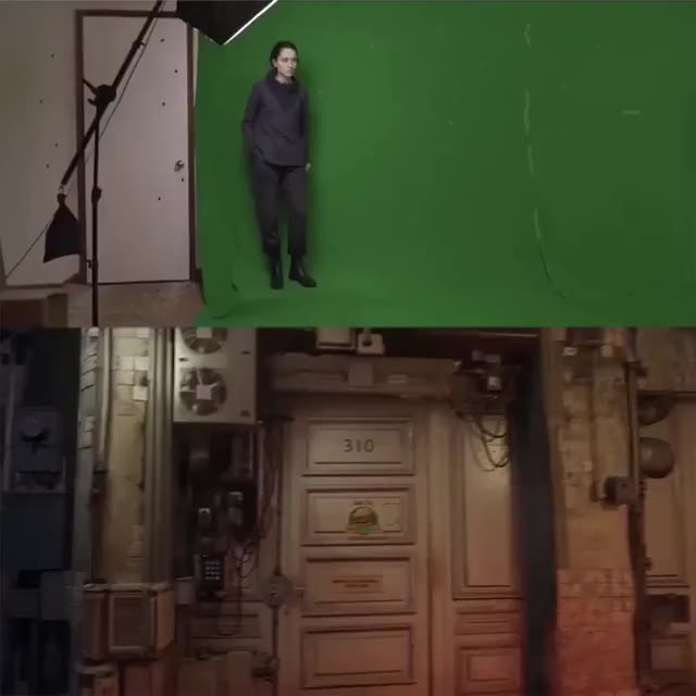 Watch and share The Power Of A Green Screen GIFs on Gfycat