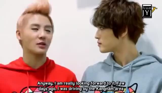 Watch and share From JYJ [ENG SUB] GIFs on Gfycat