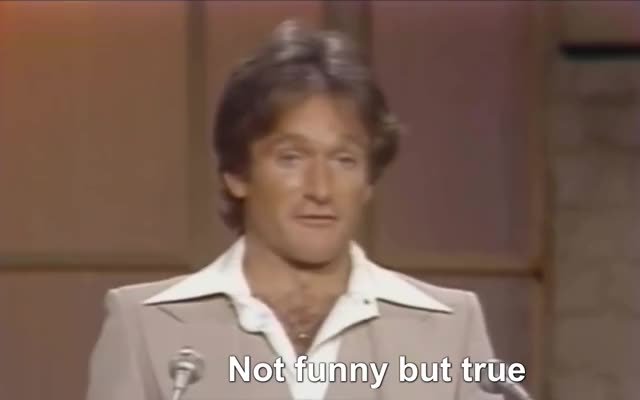 Watch and share Not Funny But True GIFs and Robin Williams GIFs by Richard Rabbat on Gfycat