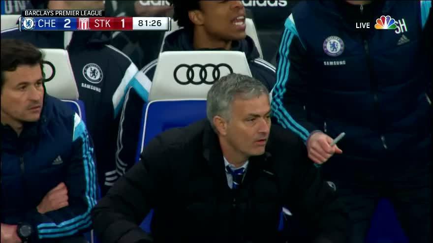 mourinhogifs, reddevils, [Post Match Thread] Chelsea 2-1 Stoke (reddit) GIFs