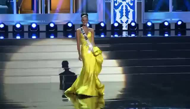 Watch and share Miss Universe GIFs and Evening Gown GIFs on Gfycat