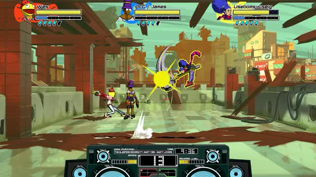 Watch and share Lethal League Blaze - Smash GIFs by Wes on Gfycat