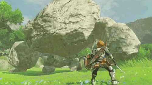 Watch and share Zelda Breath Of The Wild GIFs on Gfycat