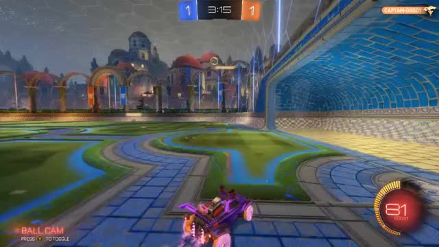 Watch When your 1v2 but your teammate delivers. GIF by @d0dg3y on Gfycat. Discover more 2v1, Rocket League GIFs on Gfycat