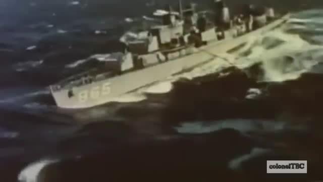 HeavySeas, WarshipGfys, USS Charles R Ware being refueled. (reddit) GIFs