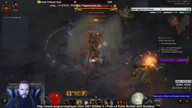 Akkhan Holy Machinegun GR100 Clear Crusader Build for Diablo 3 (2 6