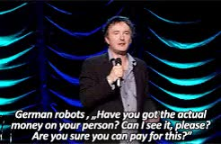 Watch never ever bloody anything ever GIF on Gfycat. Discover more *, *dm, colourfulmotion, dylan moran, p:dylan moran, standup, teflonly, yeah yeah GIFs on Gfycat