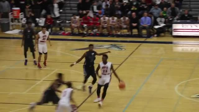 Watch and share Garfield's 5-11 Guard Jashaun Agosto Bounces Alley-oop To Himself GIFs by brohrbach on Gfycat